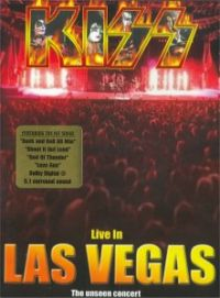 Cover KISS - Live In Las Vegas [DVD]
